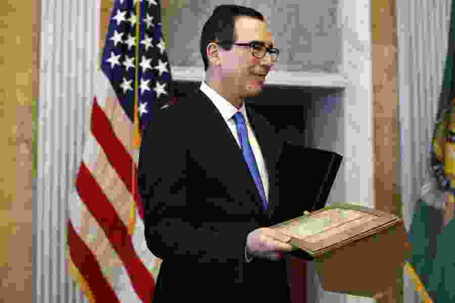 Political Cornflakes: Treasury secretary finds it 'funny' when Trump swears during campaign rallies