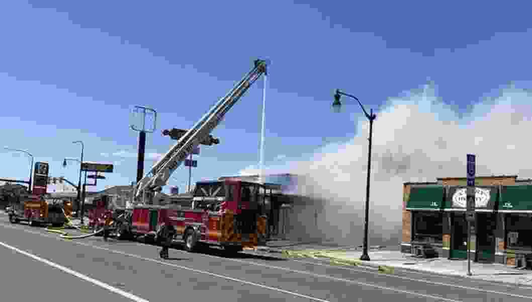 Firefighters investigating blaze that burned Salt Lake City's iconic Sconecutter restaurant