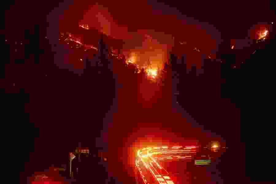 Wildfire threat keeps California highway closed Sunday