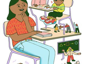 (Dalbert Vilarino | The New York Times)   School: It's Not Just for Kids Anymore