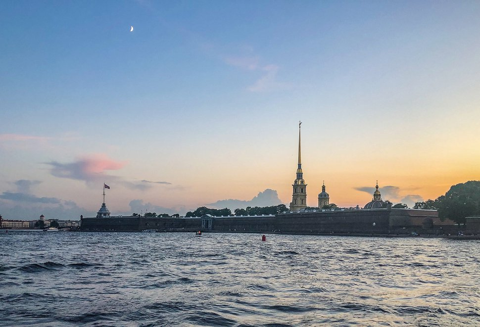 (Michael Stack | Special to The Salt Lake Tribune) Peter and Paul Fortress on the Neva River, St. Petersburg.