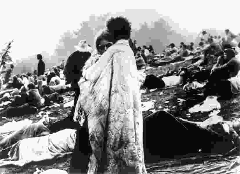 Bicknell's tiny film festival will celebrate Woodstock this July, with the 'quilt couple' from the album cover as guests