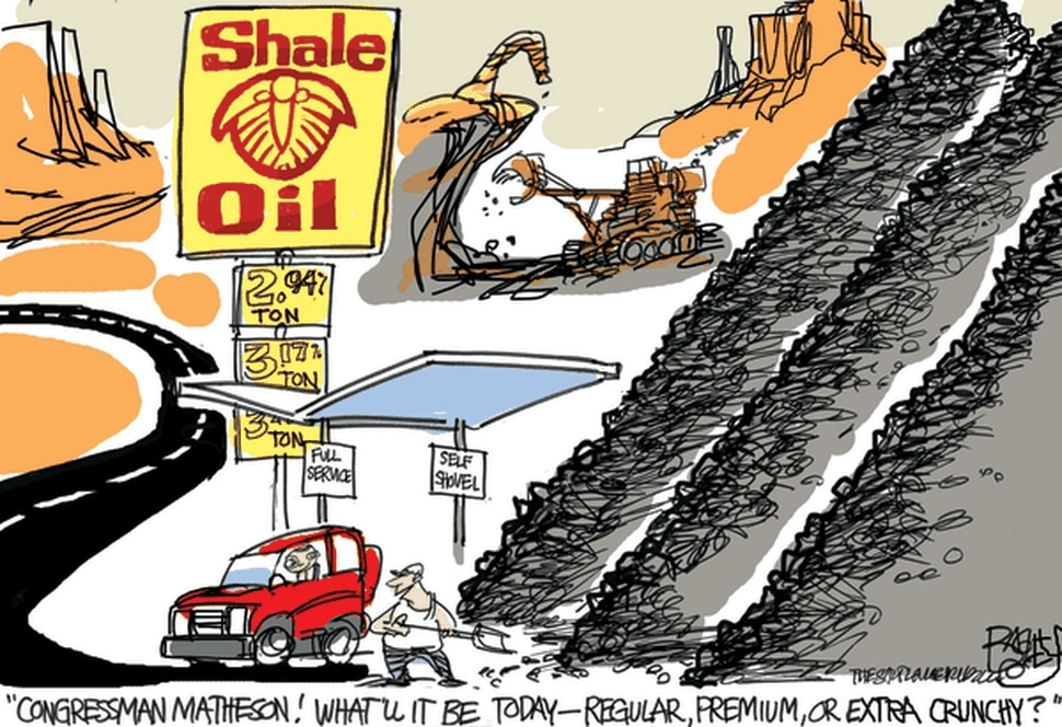 (Pat Bagley   The Salt Lake Tribune) A 2008 cartoon of then-Rep. Jim Matheson by Salt Lake Tribune editorial cartoonist Pat Bagley.