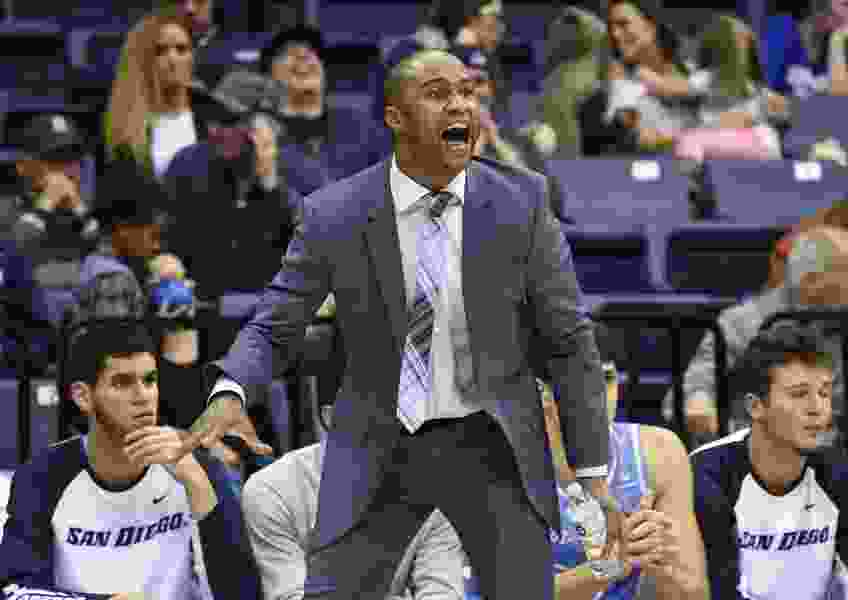 San Diego coach resigns after arrest for investigation of domestic violence