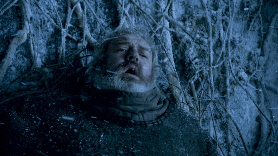 | Courtesy HBO The tragic tale of Hodor (Kristian Nairn) came to an end when he was killed by wights while trying to protect Brandon Stark.