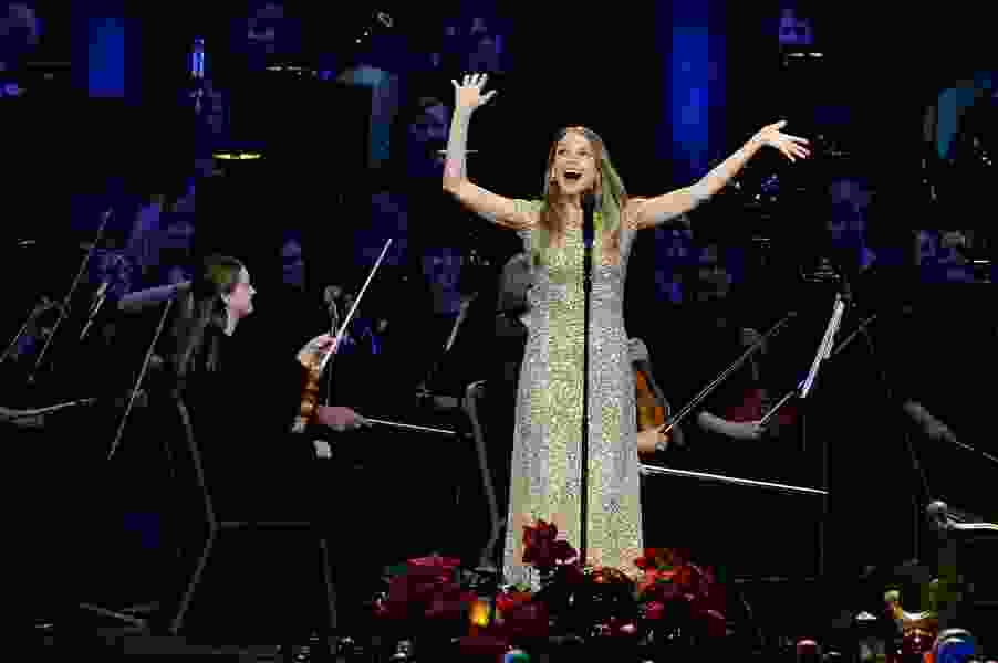 Scott D. Pierce: Tabernacle Choir guest Sutton Foster was surprised to learn she could get paid to sing