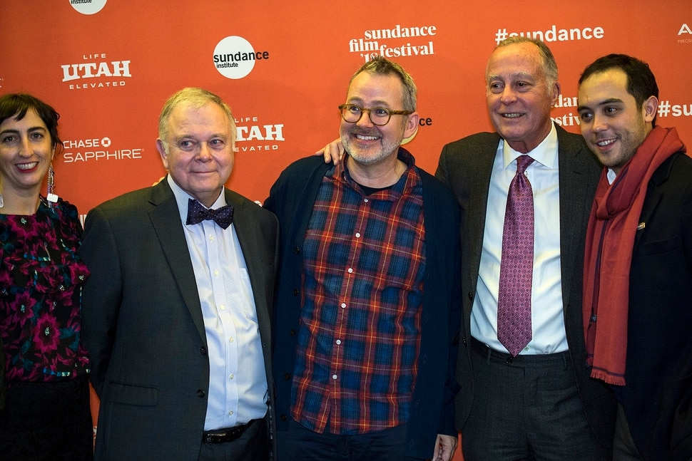 (Chris Detrick   The Salt Lake Tribune) Producer Caryn Capotosto, Fred Rogers Estate's Kevin Morrison, Director Morgan Neville, Fred Rogers Estate's Bill Isler and Producer Nicholas Ma before the screening of Won't You Be My Neighbor? during the Salt Lake City opening of the 2018 Sundance Film Festival at Rose Wagner Performing Arts Center on Friday, Jan. 19, 2018.