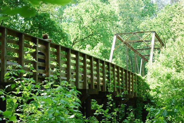 (Photo courtesy of Sumter National Forest) Key Bridge in Sumter National Forest.