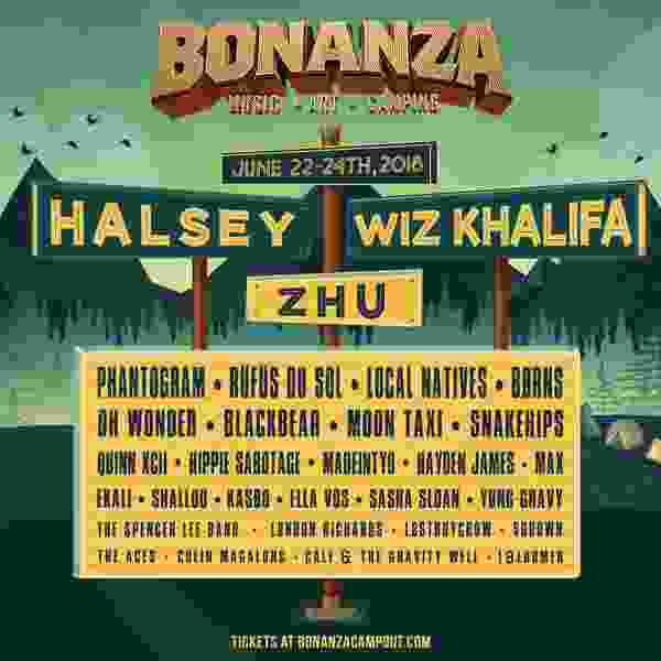 Halsey and Wiz Khalifa part of the lineup for Bonanza Campout music festival in Heber
