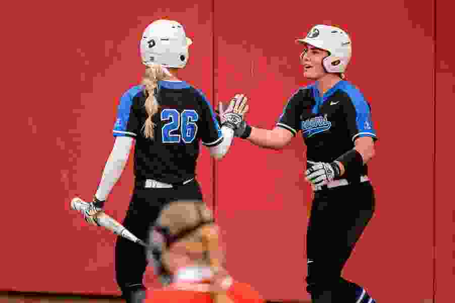 Senior catcher Libby Sugg keeps BYU loose as Cougars head into the NCAA softball tournament