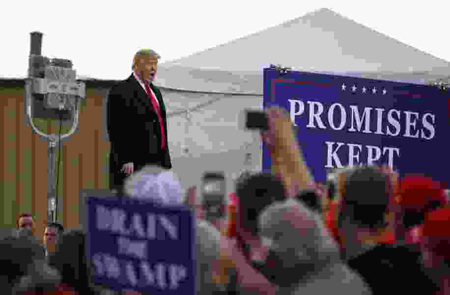 President Trump hosting rally in northeastern Nevada