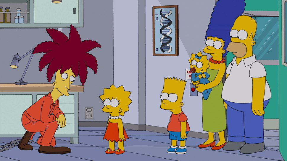 (Photo courtesy of FOX) After learning that Sideshow Bob (guest voice Kelsey Grammar) is now the chief scientist at a massive chemical engineering company, Lisa also discovers their like-minded appreciation of high-culture in the