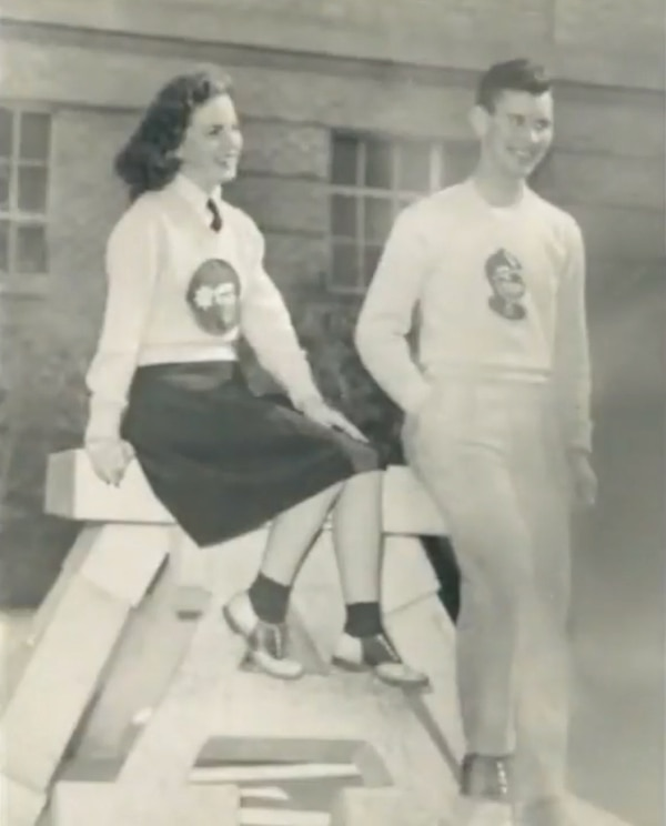 (Photo courtesy Janet Jenson) Irene Jenson was a beauty queen and Kappa Delta sorority sister when she was a student at Utah State University in the 1940s. Her granddaughter Alexis Cooper has followed in her footsteps.