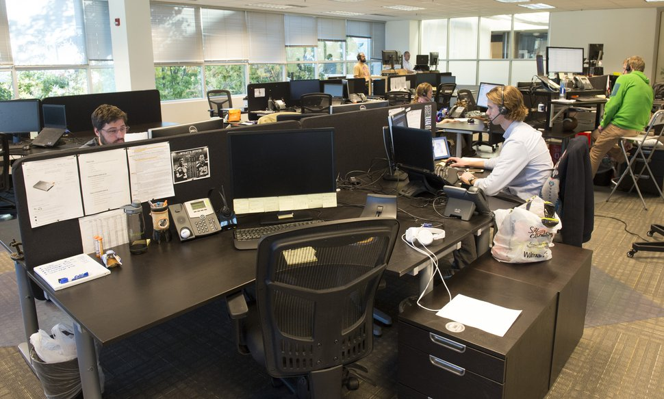 Rick Egan | The Salt Lake Tribune BambooHR, is a small information-technology company identified as one of the best workplaces in Utah, Wednesday, November 5, 2014