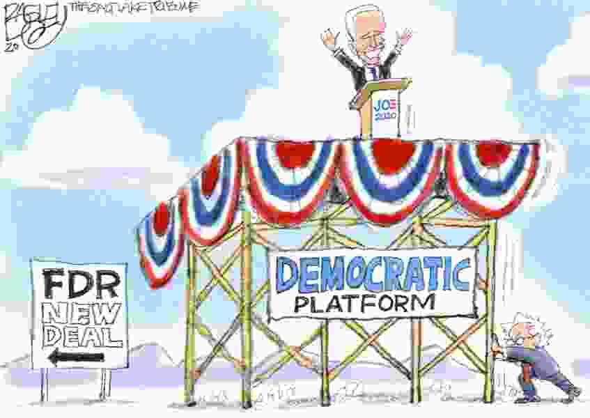 Bagley Cartoon: Where Joe Stands
