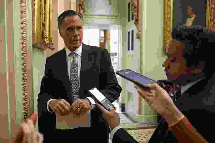 Sen. Mitt Romney pitches student loan deferment