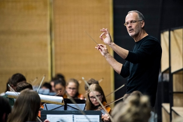 (Chris Detrick | The Salt Lake Tribune) Barlow Bradford conducts members of the Utah Youth Orchestras & Ensembles as they recently rehearse