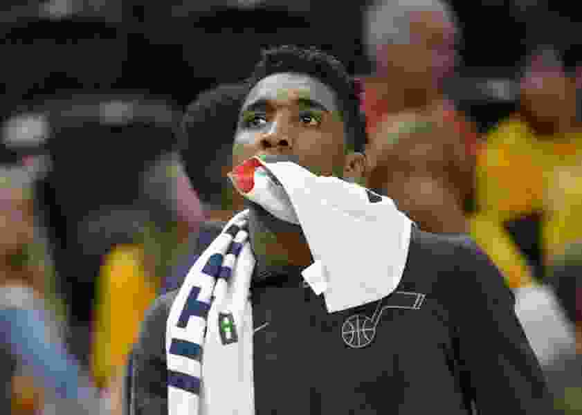 Donovan Mitchell's horrible night summed up the Jazz's futility in Game 3. What is he going to do about it?