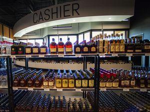 (Rick Egan   The Salt Lake Tribune)  The new state liquor and wine store in Saratoga Springs, on Monday, Nov. 16, 2020.