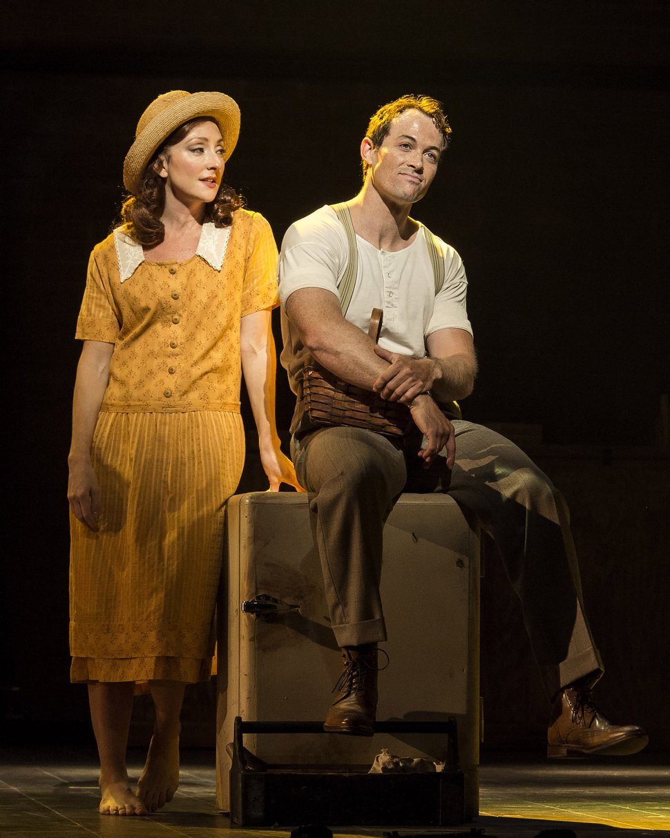 """(Courtesy photo by Craig Schwartz) Carmen Cusack and Patrick Cummings in Steve Martin and Edie Brickell's """""""