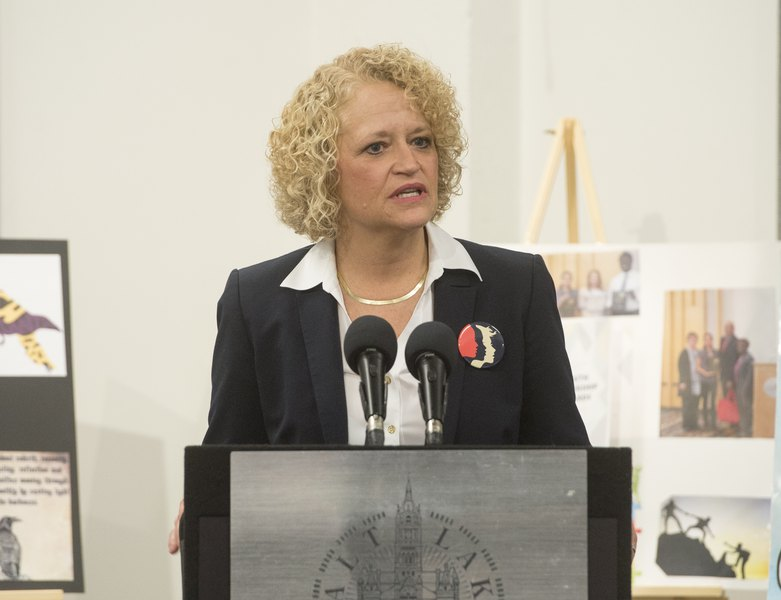 Salt Lake City Mayor Jackie Biskupski Proposes Half Penny Hike In