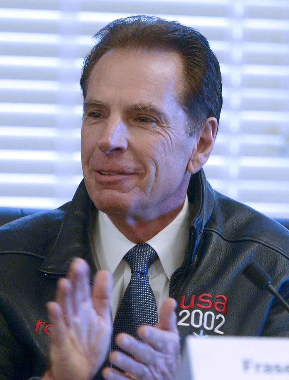 (Leah Hogsten | The Salt Lake Tribune) Olympic/Paralympic Exploratory Committee Board member Fraser Bullock and fellow members of the Salt Lake Olympic Exploratory Committee voted Wednesday to recommend that Utah should pursue hosting the Olympic and Paralympic Winter Games in 2030. If the U.S. Olympic Committee decides by March 31 to pursue the Games for 2026, and selects Salt Lake City as an interested city, the committee recommended that Utah leaders consider taking the next steps, including forming a candidature committee to pursue the opportunity, Wednesday, February 7, 2018.