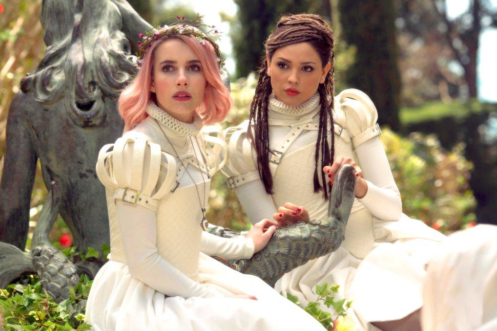 (Manolo Pavn | courtesy Sundance Institute) Emma Roberts, left, Eiza Gonzalez star in director Alice Waddington's suspense thriller