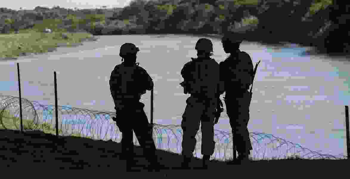 Dana Milbank: While Trump feasts on Thanksgiving, troops on the border eat rations and await Pancho Villa