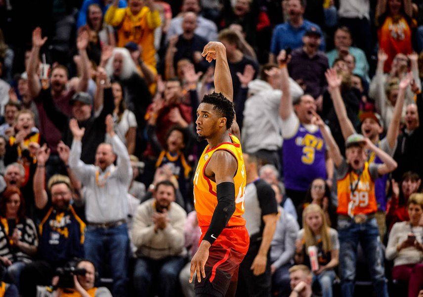 Donovan Mitchell has been buried in these playoffs, but he will dig out, if history is any kind of guide