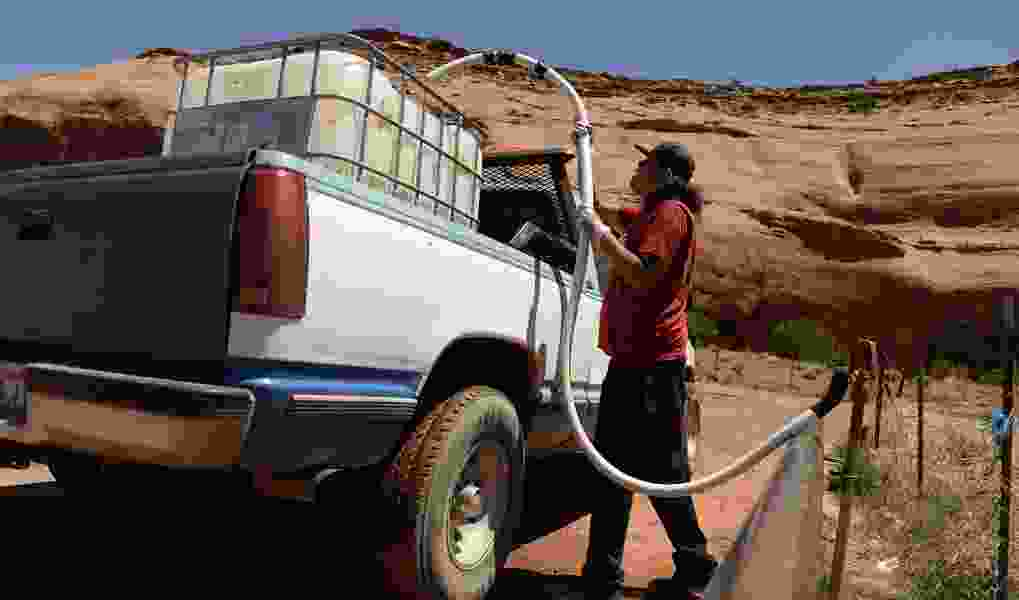 For many on the Navajo Nation, getting water requires travel, a wait in long lines and lots of patience