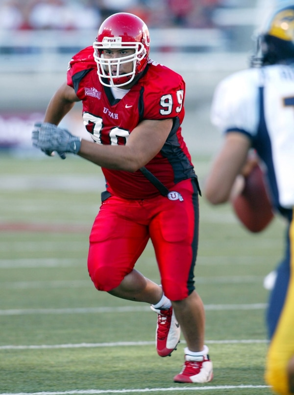(Courtesy University of Utah) Lewis Powell helped the Utes win the Mountain West title in 2003.