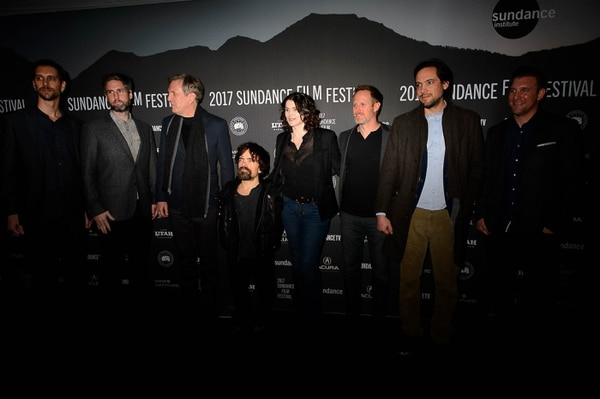 "Trent Nelson | The Salt Lake Tribune Cast and crew at the premiere of the film ""Rememory,"