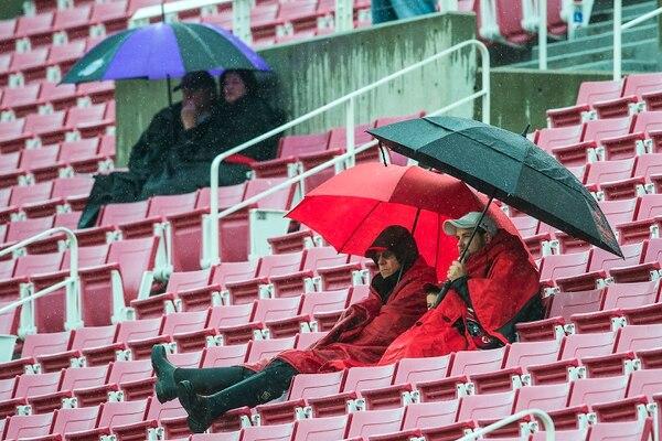Chris Detrick | The Salt Lake Tribune Utah Utes fans watch during a scrimmage at Rice-Eccles Stadium Saturday March 25, 2017.