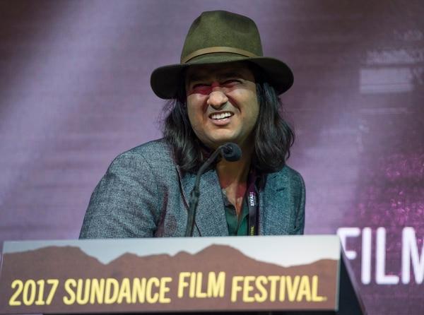 Rick Egan   The Salt Lake Tribune Rodrigo Trejo Vilanueva receives the World Cinema Documentary Special Jury Award for Best Cinematography for his film ÒMachines,Ó at the 2017 Sundance Film FestivalÕs Awards Ceremony, Saturday, January 28, 2017.