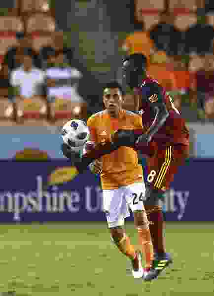Albert Rusnak scores two goals in stoppage time to lift Real Salt Lake over the Dynamo in Houston