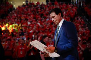 (Francisco Kjolseth     The Salt Lake Tribune)  Utah Jazz head coach Quin Snyder prior to Game 3 of a first-round NBA basketball playoff series against the Rockets in Salt Lake City, Saturday, April 20, 2019.