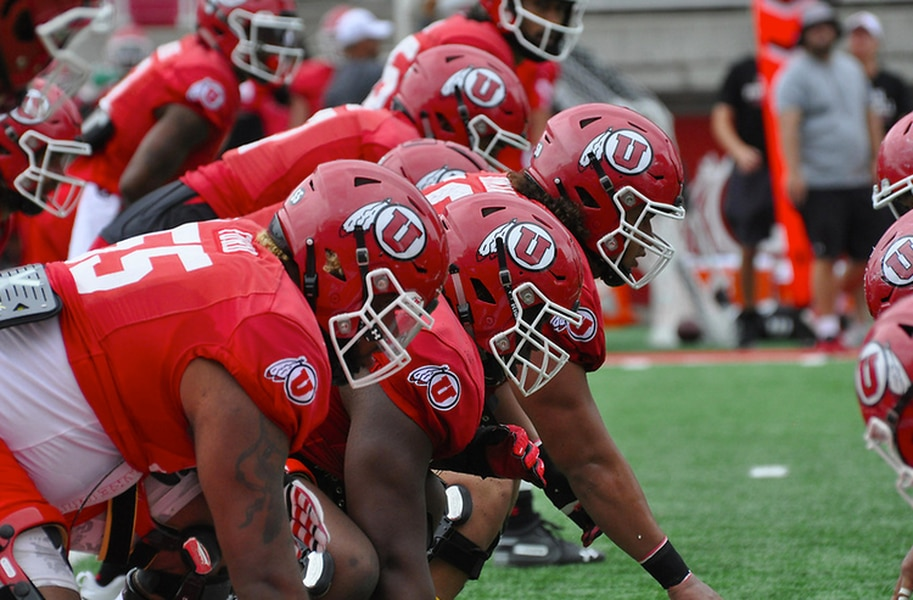 Utah's offensive line is a question mark, but tackle Nick Ford tells the doubters, 'Just wait 'til game day' vs. BYU