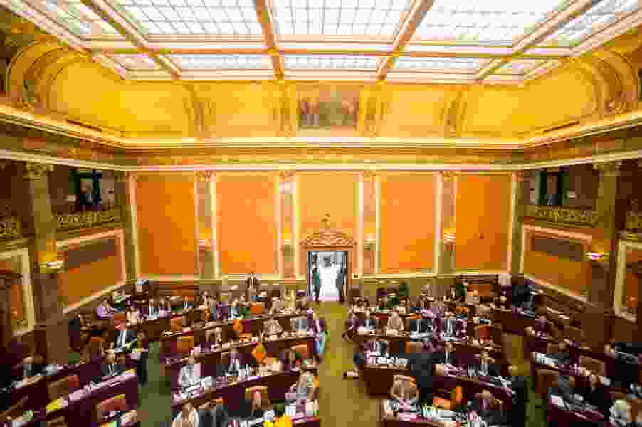 Upcoming election makes proposed pay hike tricky for legislators