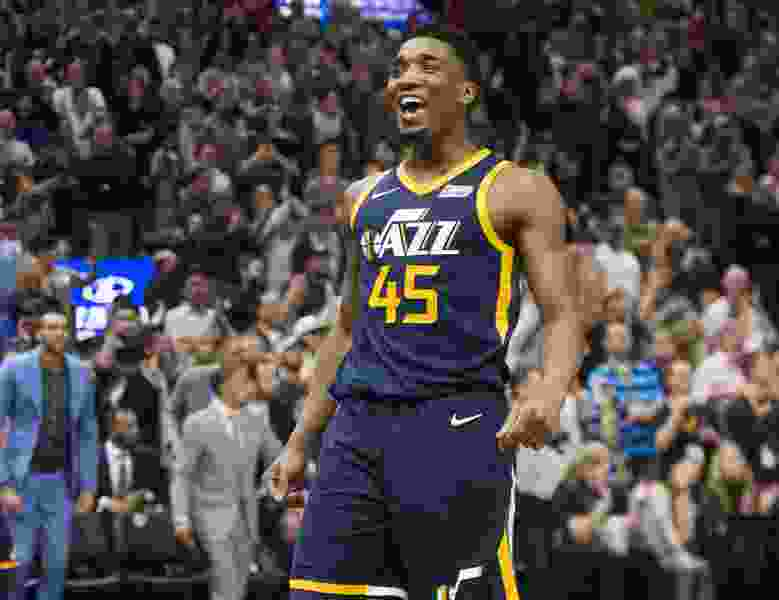 Utah Jazz guard Donovan Mitchell named Western Conference Rookie of the Month