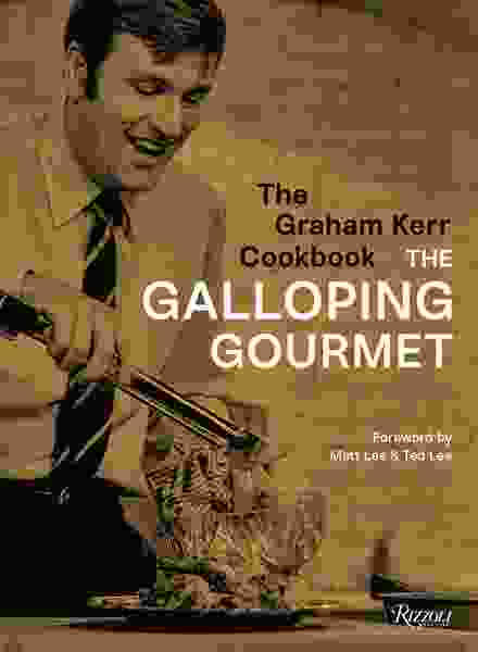 Graham Kerr celebrates the cookbook that led to his gallop