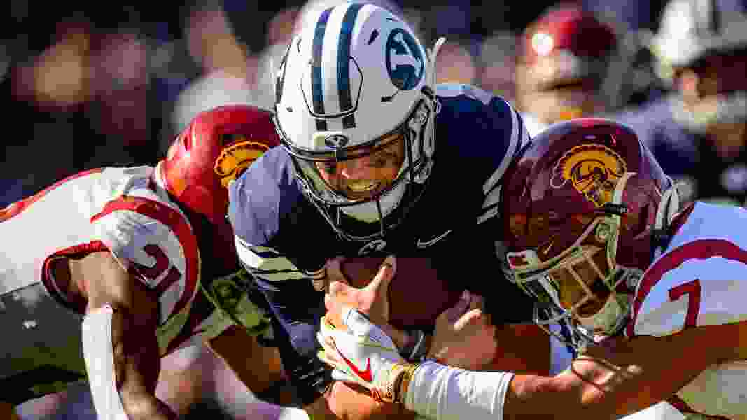 The BYU Cougars made progress in 2019 despite season record
