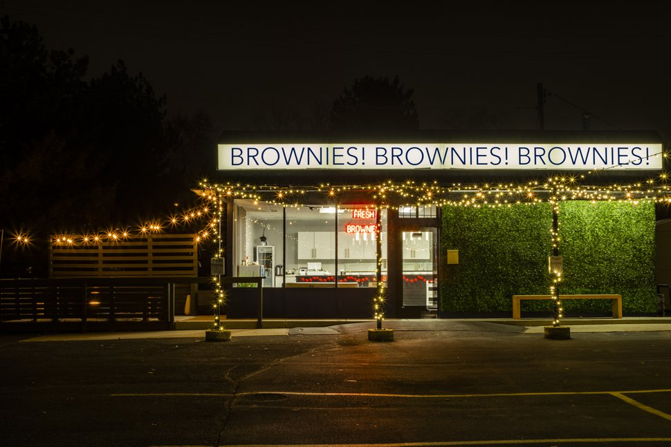 (Courtesy photo) Brownies! Brownies! Brownies is a new Salt Lake City bakery where the majority of the menu is — you guessed it — brownies, and 1 percent of sales are donated to a local non-profit..
