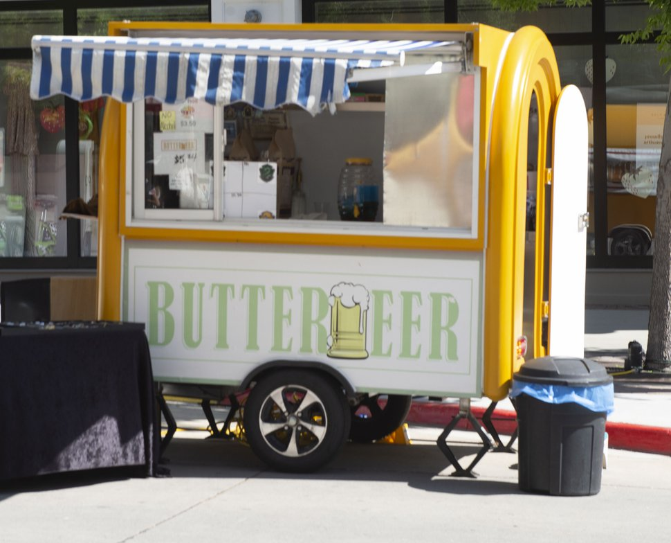 (Rick Egan | The Salt Lake Tribune) Harry Potter fans can rejoice as there is a new mobile food truck In Utah that serves butterbeer.