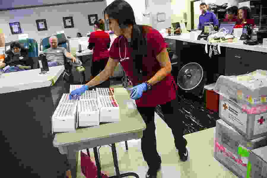 Social Distancing Leads To Blood Shortage