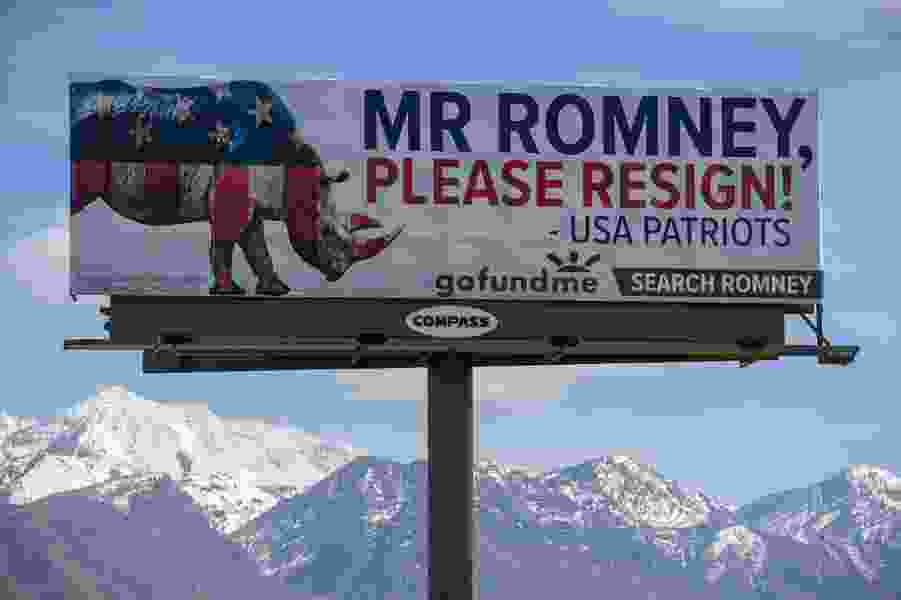 Letter: Mitt Romney should join the Democrats