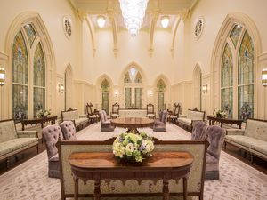 (Photo courtesy The Church of Jesus Christ of Latter-day Saints) The Celestial Room of the Provo City Center Temple.