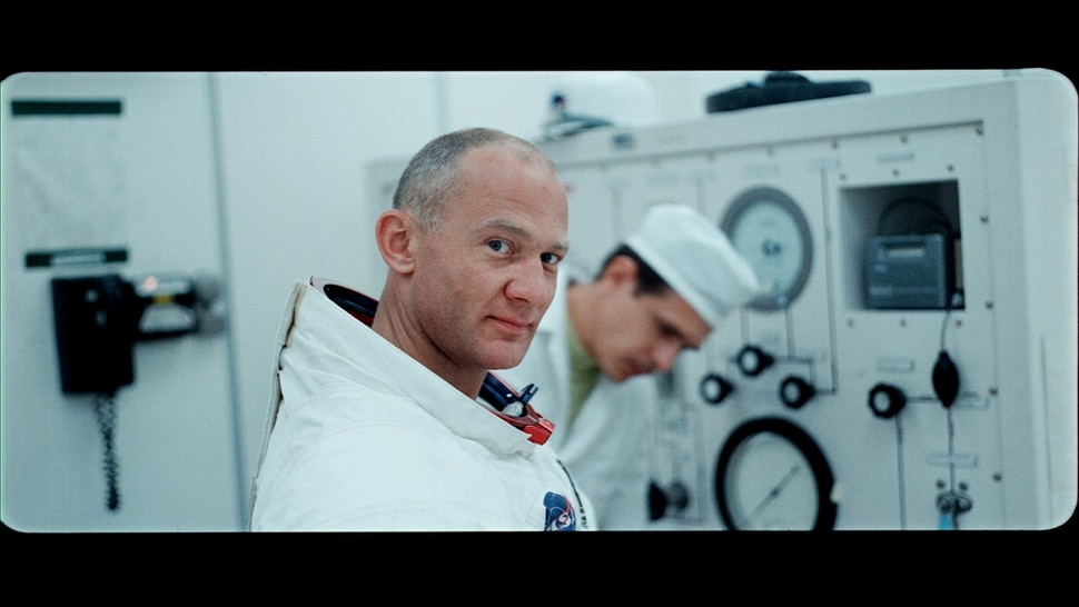 (Photo courtesy Neon/CNN Films/Sundance Institute) Astronaut Buzz Aldrin in his space suit, in an image from Todd Douglas Miller's documentary Apollo 11, an official selection in the U.S. Documentary Competition of the 2019 Sundance Film Festival.