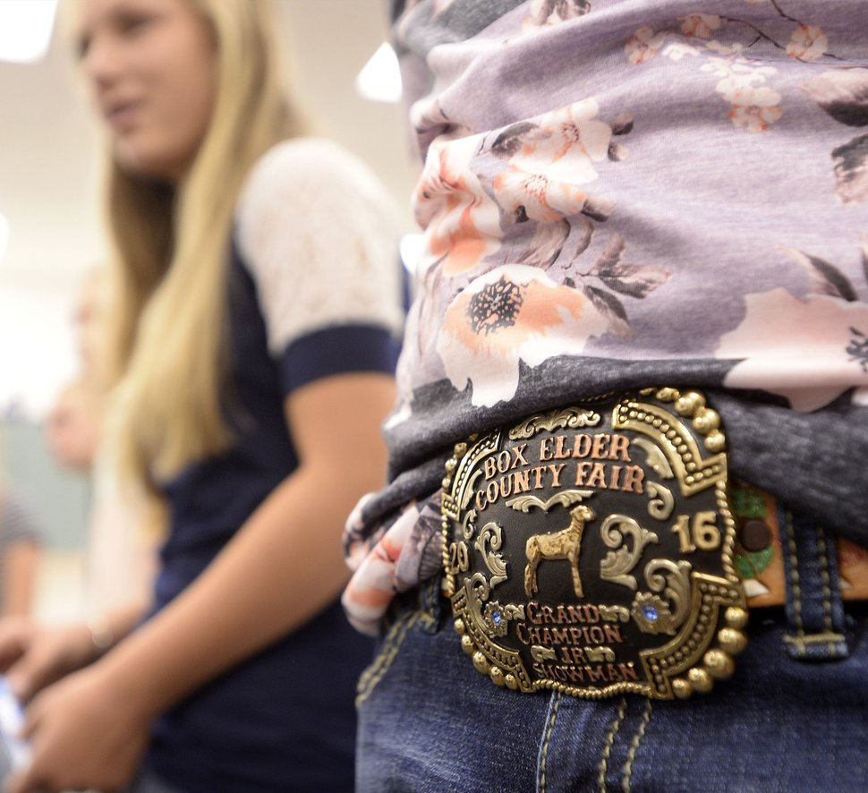 (Al Hartmann   The Salt Lake Tribune) Belt buckles are a common sight at Park Valley School, where many students come from farming and ranching families. That way of life was part of why the school sought a four-day week, freeing students to help with chores and long-distance errands without missing class.