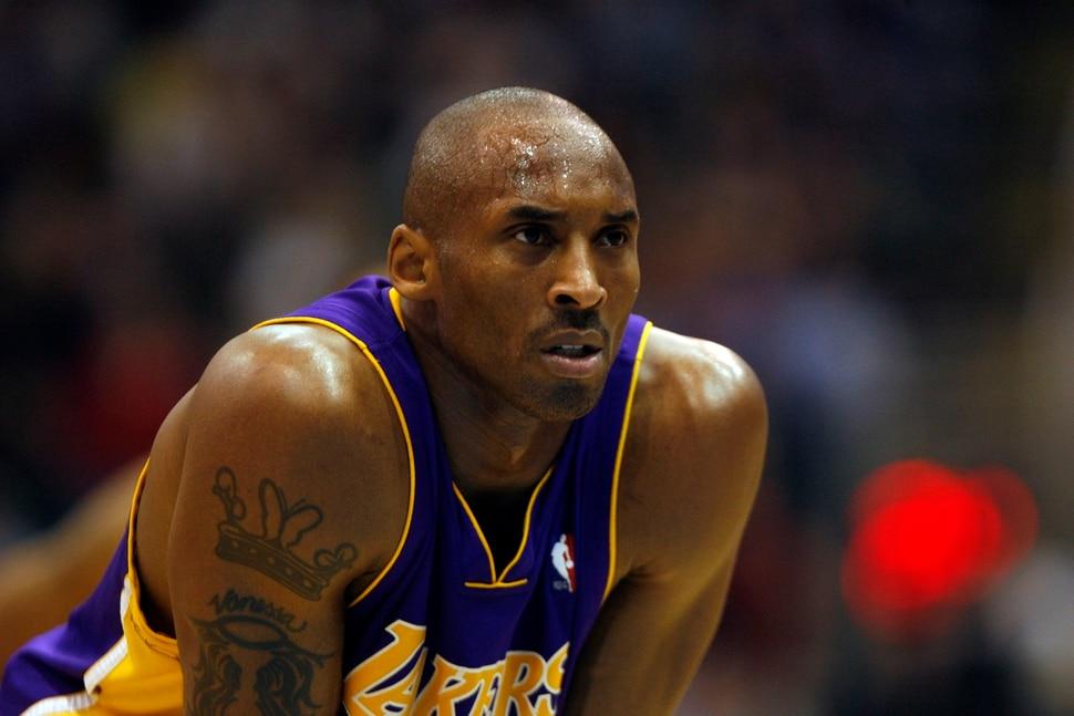 (Trent Nelson | The Salt Lake Tribune) Kobe Bryant, Utah Jazz vs. Los Angeles Lakers basketball, game three, NBA playoffs, Thursday April 23, 2009 at EnergySolutions Arena.