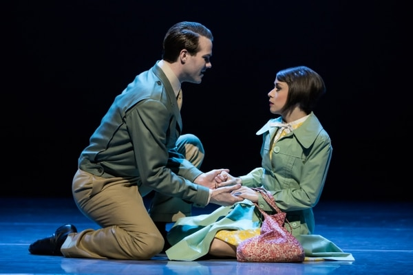 (Courtesy Matthew Murphy) McGee Maddox and Sara Esty star in the touring production of